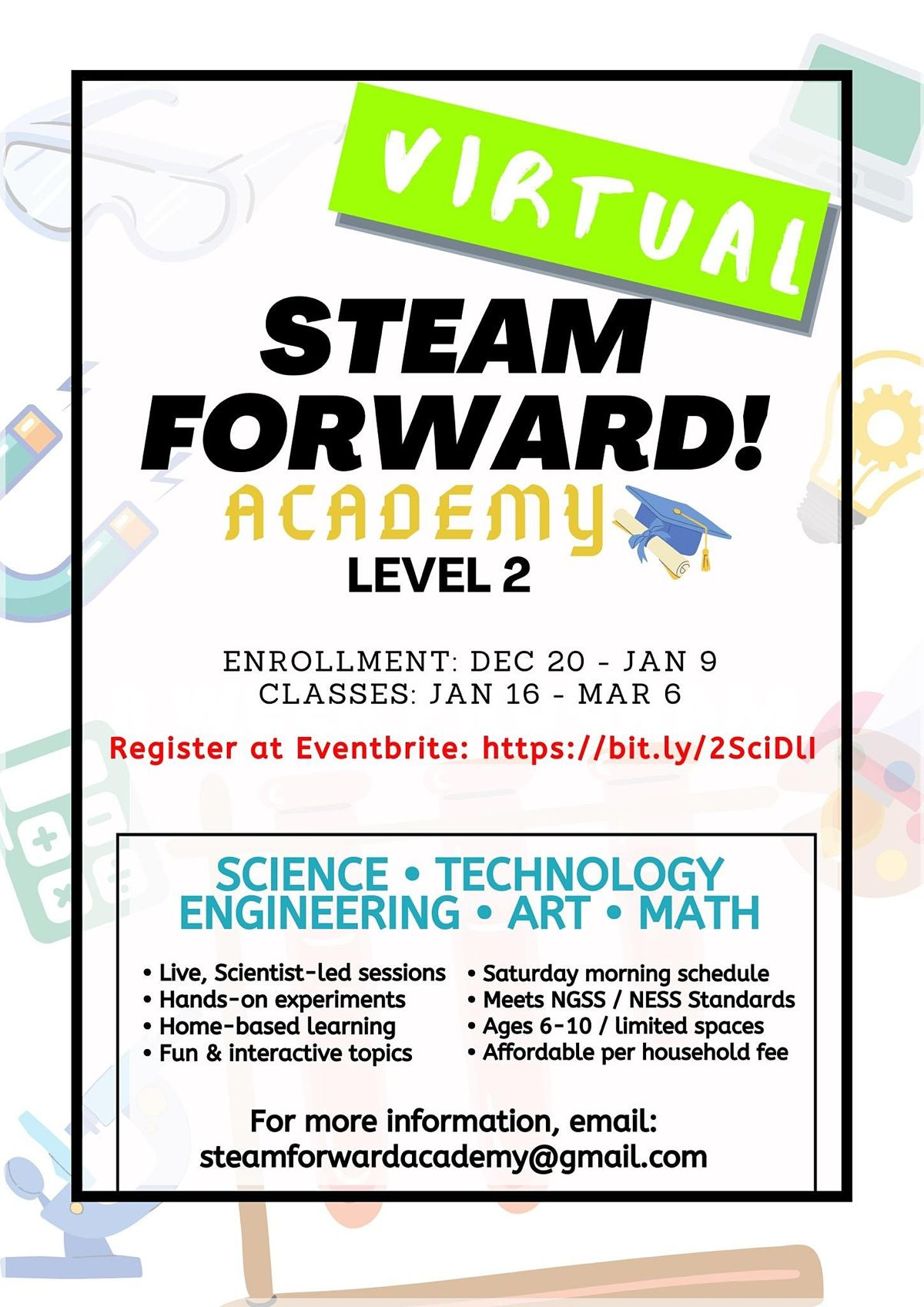 Virtual STEAM Forward! Academy | Online Event | AllEvents.in