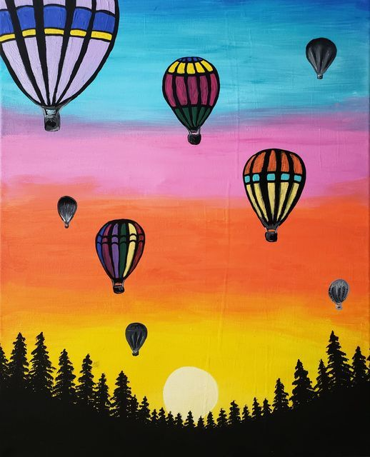 Paint Night Date Night Canvas Art painting class, 30 April | Event in Farmington | AllEvents.in
