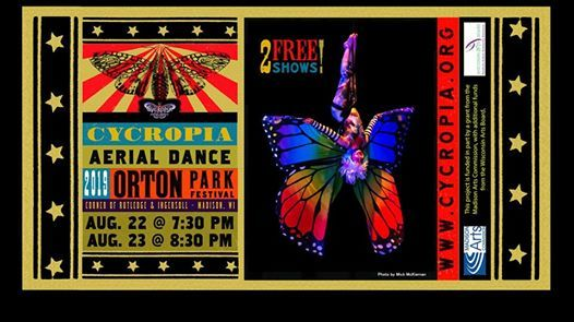 Magic Under Orton Park Oak >> Cycropia At The Orton Park Festival 8 22 8 23 Madison