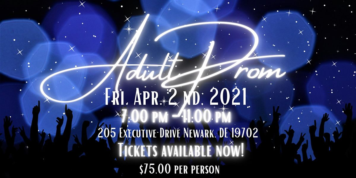 Genesis Nine Adult Prom: New Beginnings, 2 April | Event in Newark | AllEvents.in