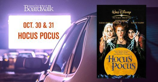 Hocus Pocus - Drive-In Movie, 30 October | Event in Santa Cruz | AllEvents.in