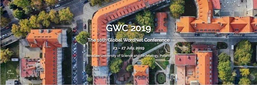 10th International Global WordNet Conference GWC 2019