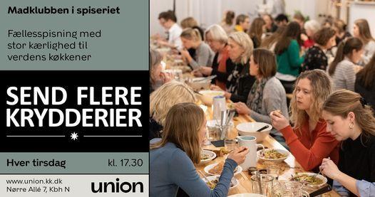Madklubben i Send Flere Krydderier | Event in Copenhagen | AllEvents.in