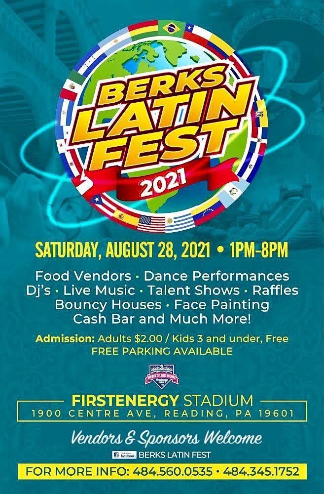 Christmas At Firstenergy Stadium 2021 Berks Latin Fest 2021 Firstenergy Stadium Reading August 28 2021 Allevents In