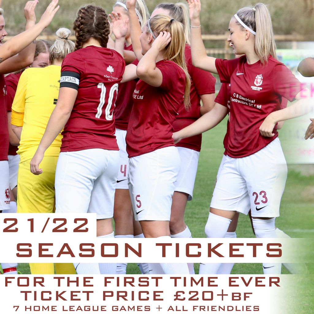 Hastings United Womens 2021/22 Season Tickets Tickets , 12 September | Event in Hastings | AllEvents.in