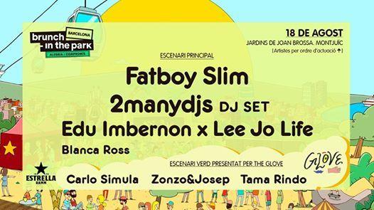 Brunch -In The Park 7 Fatboy Slim 2manydjs
