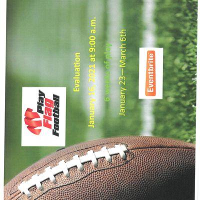 Hillside Sports Ministry - Flag Football (Kids aged K - 5th grade)