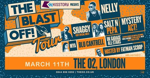 Kisstory presents The Blast Off Tour at The O2 arena