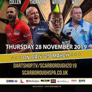 A Night At The Darts Scarborough Thursday 28 November 2019