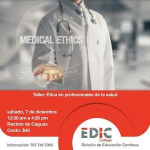 tica en profesionales de la salud