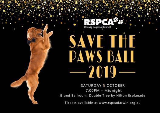 RSPCA Darwin Save the Paws Ball at DoubleTree by Hilton Hotels