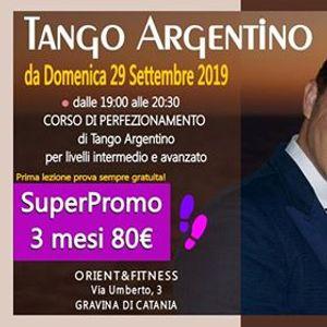 Corso Perfezionamento di Tango Argentino a Gravina di Catania