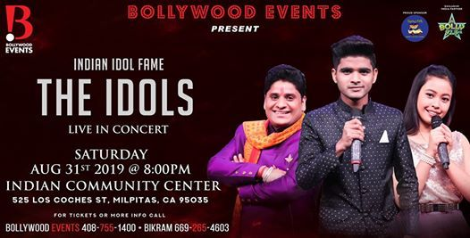 The Indian Idols in San Jose at India Community Center, Milpitas