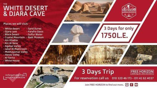 White Desert - Djara Cave - Frafra Oasis