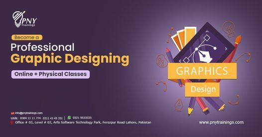 Become a Professional Graphic Designer, 24 April   Event in Lahore   AllEvents.in