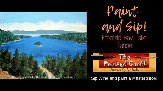 Paint and Sip Emerald Bay 10 off