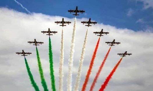 Linate Air Show 2019 - Le Frecce Tricolori