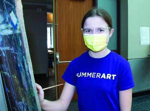 SummerArt Session 2 Oil & Acrylic Easel Painting - Ages 12–15, 12 July | Event in Montclair | AllEvents.in
