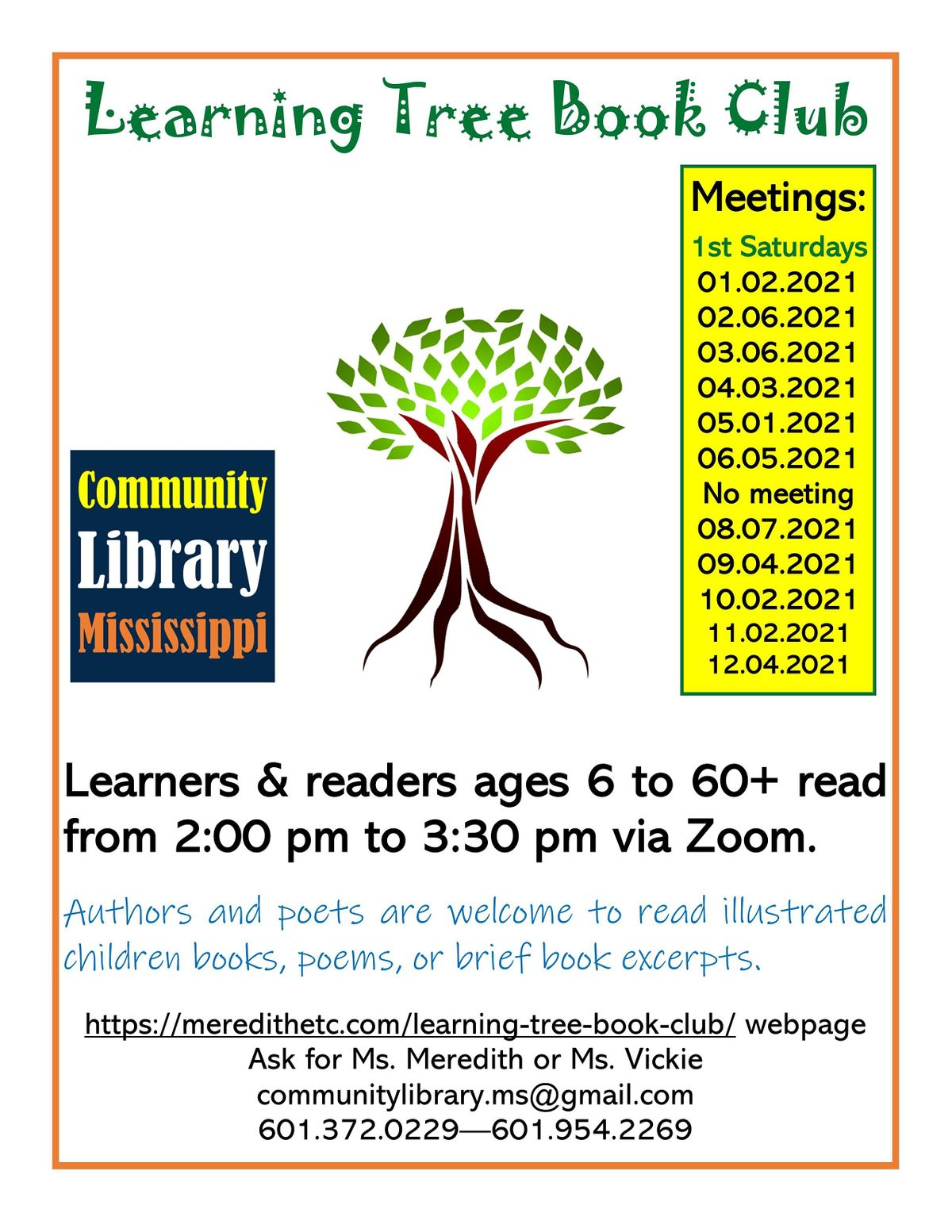 Learning Tree Book Club | Online Event | AllEvents.in
