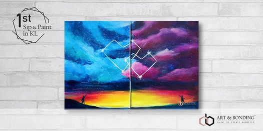 Sip & Paint Date Night : Stargazing, 10 December | Event in Kuala Lumpur | AllEvents.in