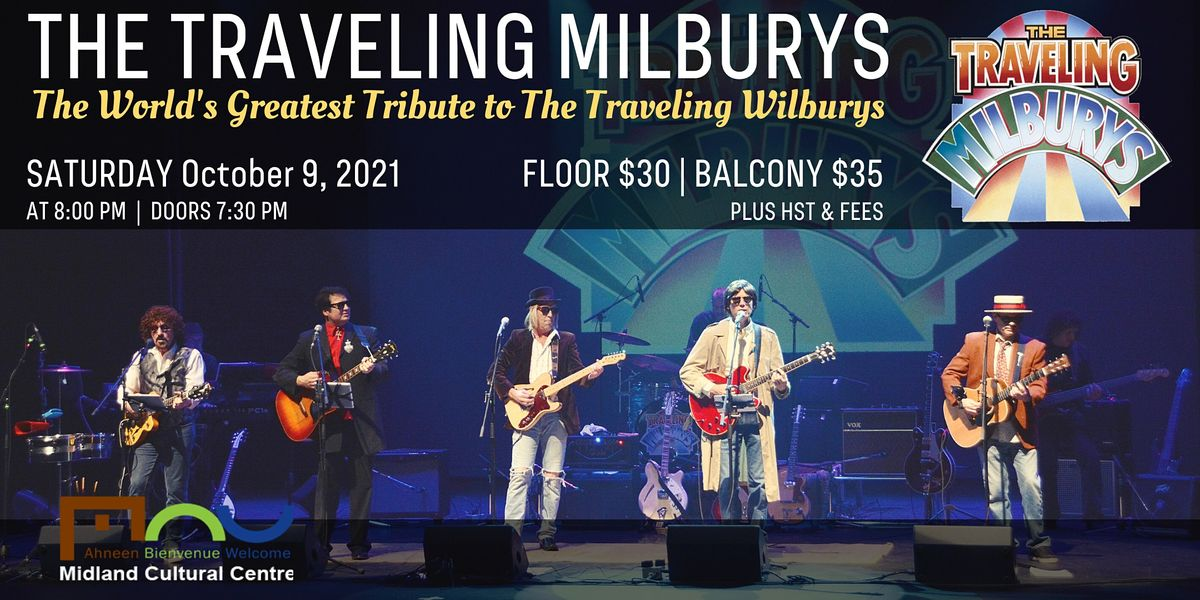 The Traveling Milburys, 9 October | Event in Midland | AllEvents.in