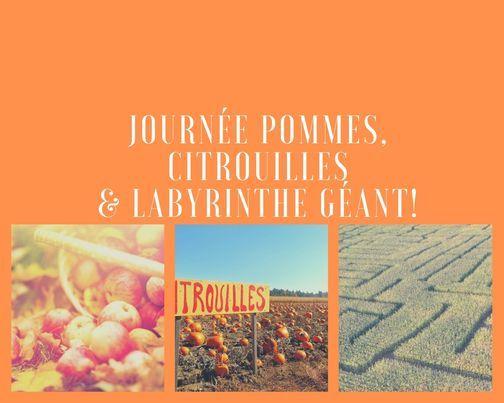 Journée Pommes, citrouilles  & labyrinthe géant!   Event in Montreal   AllEvents.in
