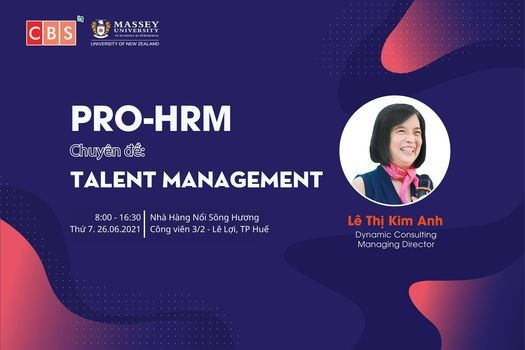 PRO - HRM: Talent Management, 26 June | Event in Danang | AllEvents.in