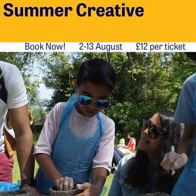 Family Fun  Summer Creative Workshops- Fantasy Georgian Pleasure Gardens