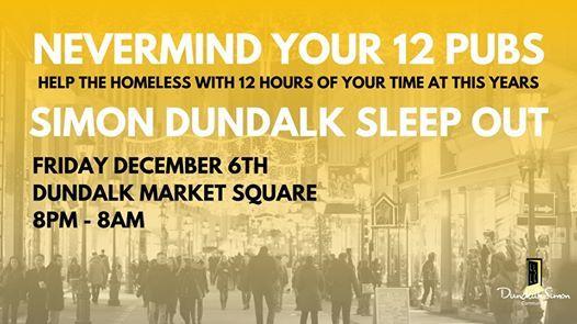 Annual Dundalk Simon Sleep Out 2019