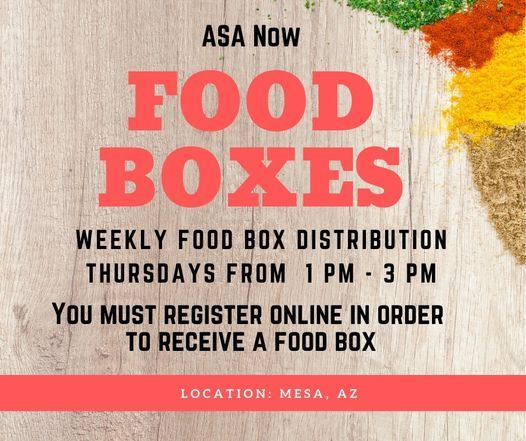 Food Distribution, 13 May | Event in Mesa | AllEvents.in