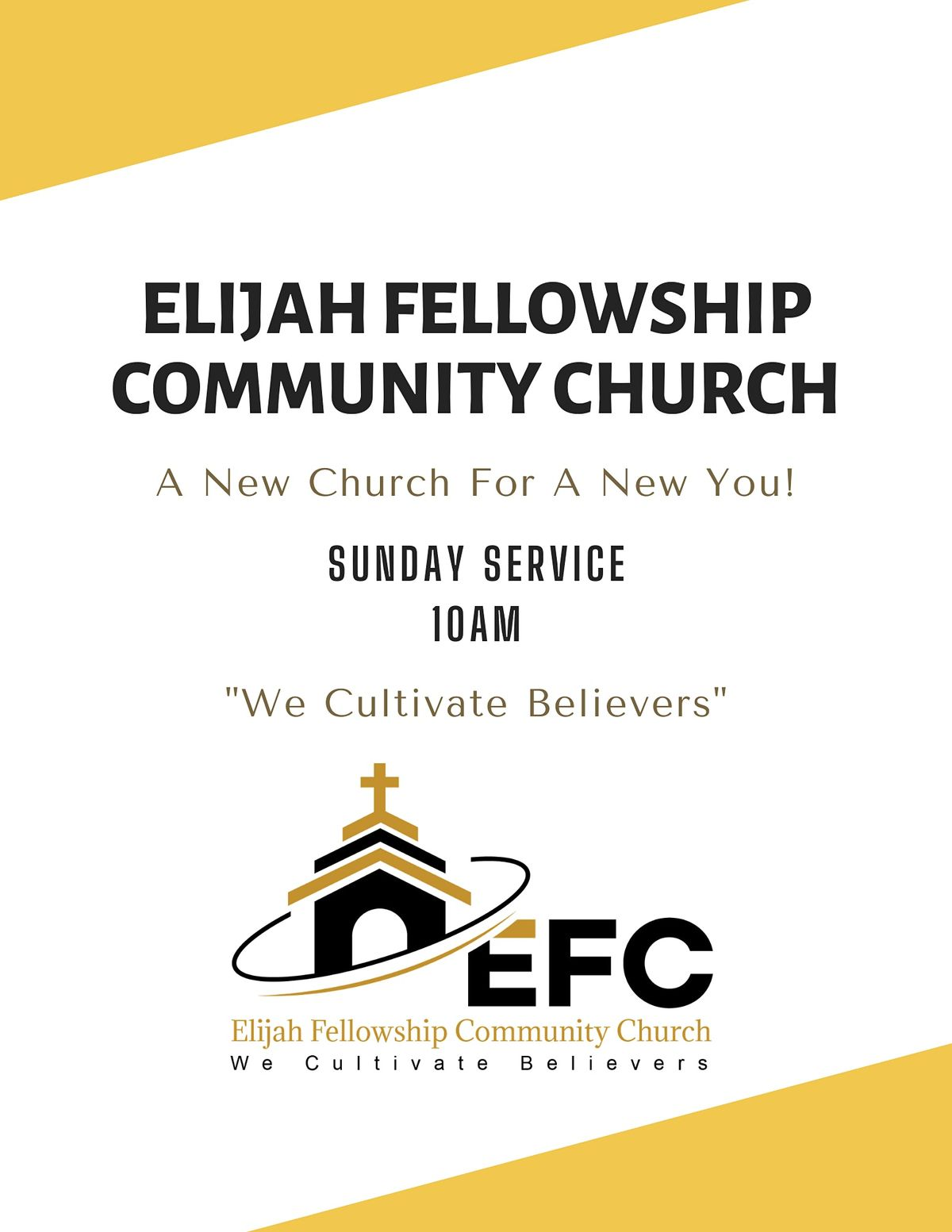 Elijah Fellowship Community Church Sunday Service | Event in Desoto | AllEvents.in