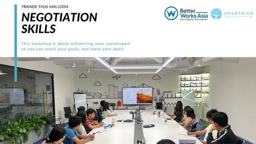 Leadership Program: Influencing Your Negotiation Counterpart, 20 August | Event in Ho Chi Minh City | AllEvents.in