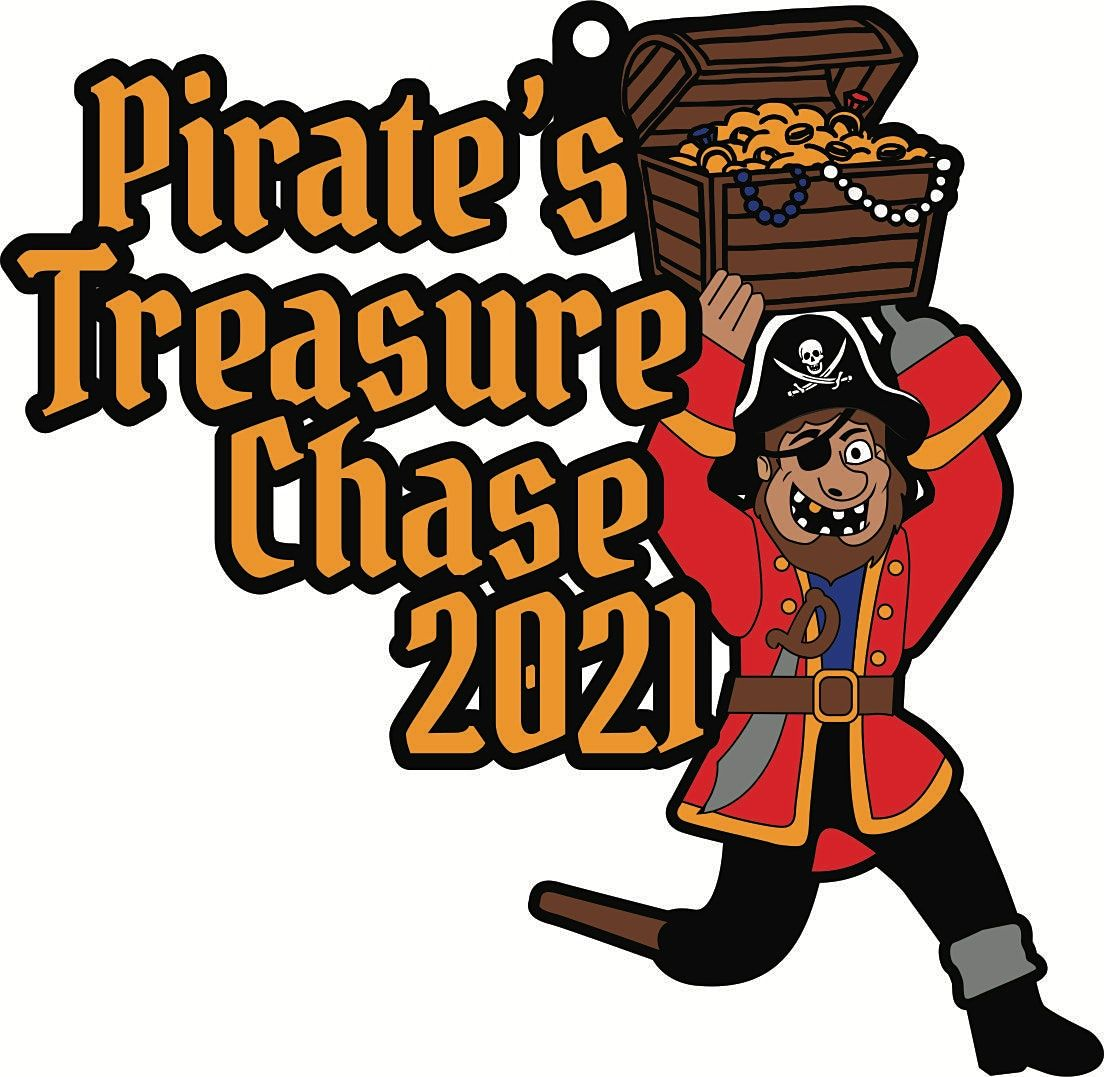 2021 Pirate's Treasure Chase 5K 10K 13.1 26.2-Participate from Home.Save $5, 19 September   Event in Memphis
