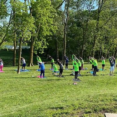 Yoga in the Park with KC SMART Runners