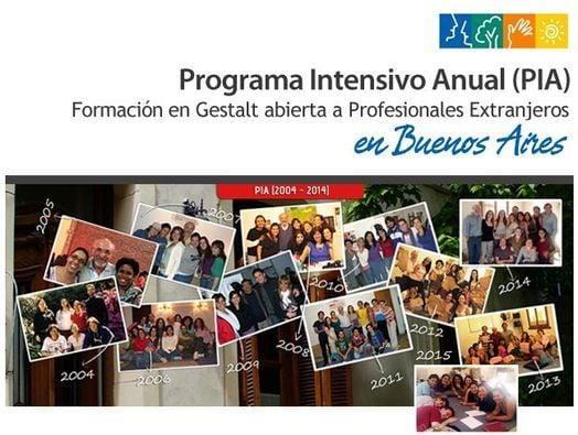 Gestalt: Programa Intensivo Anual para extranjeros (PIA), 16 March | Event in San Martin | AllEvents.in