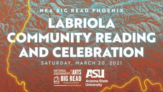 NEA Big Read Phoenix: Labriola Community Celebration, 20 March | Online Event | AllEvents.in
