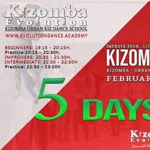 Kizomba Urban Kiz February Cycle in NIJMEGEN