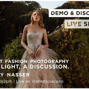 About Fashion Photography & Light a Discussion by Louay Nasser