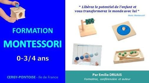Formation Montessori  Semaine approfondie