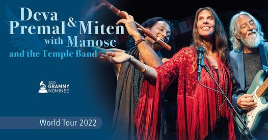New Date: New York, US: Deva Premal & Miten with Manose, 5 May | Event in New York | AllEvents.in