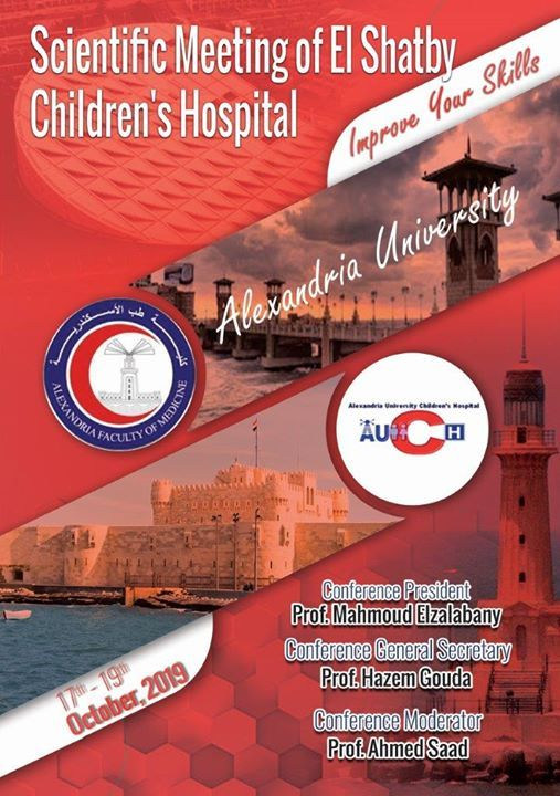 Scientific Meeting of El Shatby Childrens Hospital Alexandria