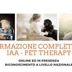 Formazione completa in Pet Therapy.