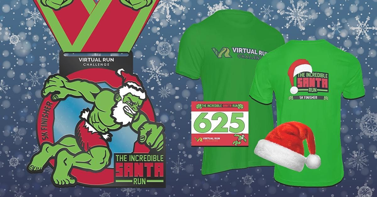 2020 Incredible Santa Run Walk   Anchorage, Anchorage, 1 December