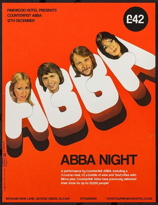 ABBA night - a performance by Counterfeit ABBA