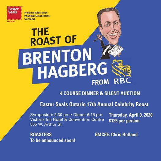 Easter Seals 17th Annual Thunder Bay Celebrity Roast, 1 April | Event in Thunder Bay | AllEvents.in