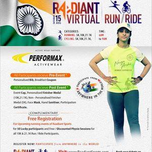 Raadiant Virtual RunRide