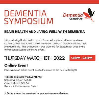 Dementia Symposium