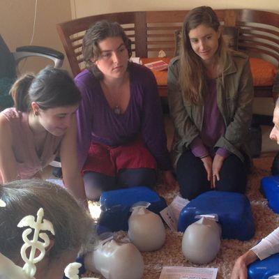 Santa Cruz A RED CROSS Adult-Pediatric CPR-AED and First Aid Class