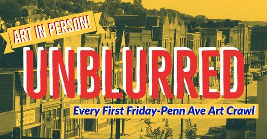 #unblurred: August First Friday Art Crawl, 6 August   Event in Pittsburgh   AllEvents.in