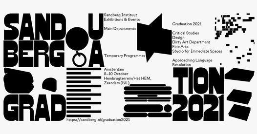 Save the date: Sandberg Graduation 2021, 8 October   Event in Zaandam   AllEvents.in
